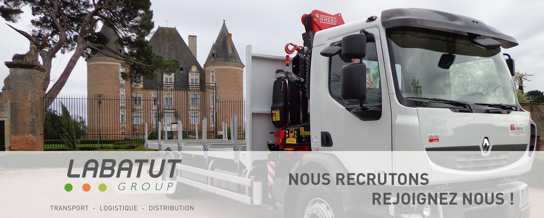 Offre d'emploi : Conducteur régional poids lourd plateau grue – proche Saint-Etienne (42)