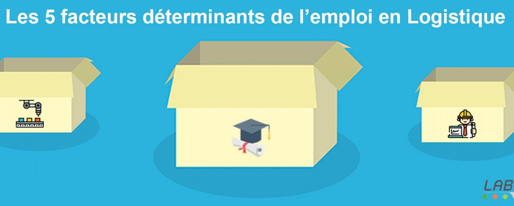 Les 5 facteurs déterminants de l'emploi en Logistique