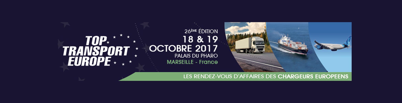 Un besoin en transport ? Venez nous rencontrer au salon Top Transport Europe les 18 et 19 octobre 2017.
