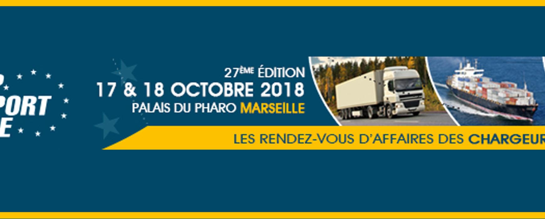 Un besoin en transport & logistique ? Venez nous rencontrer au salon Top Transport Europe les 17 et 18 octobre 2018.