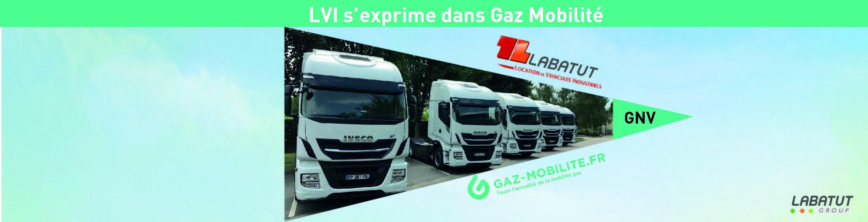 LVI s'exprime dans Gaz-mobilité.
