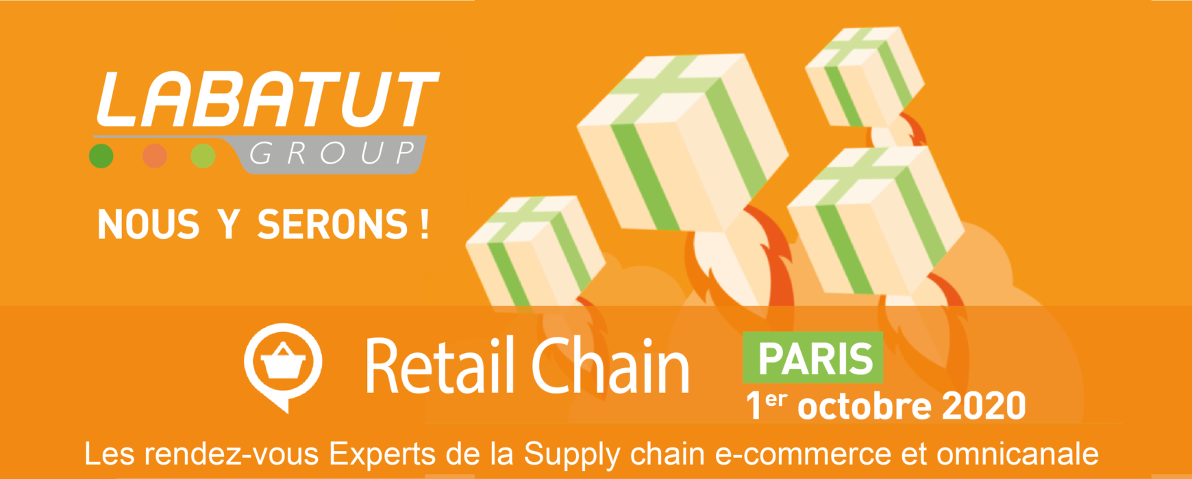 Salon Retail Chain : Nos solutions pour une Supply Chain e-commerce et omnicanale!
